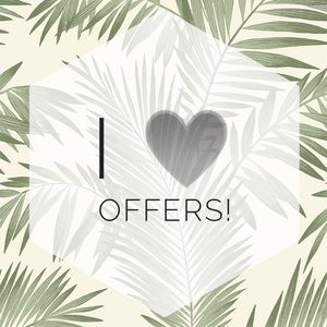 I LOVE OFFERS💗Happy Spring